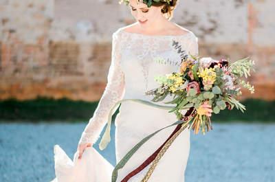 Coronas de flores para novia que transformarán tu look: ¡Descúbrelas!