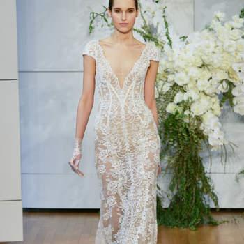 Vestidos de novia con escote en V. ¡Elige el diseño más sofisticado!