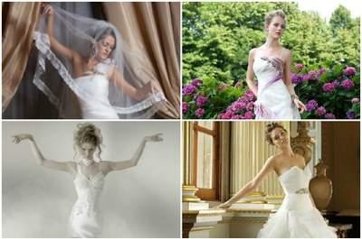 Affidatevi alla directory di Zankyou per trovare l'abito da sposa dei vostri sogni, anche in estate!