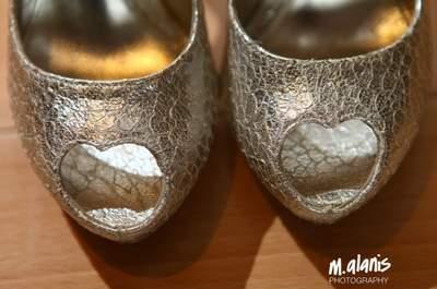 #MartesDeBodas: Todo lo que debes saber sobre los zapatos de novia