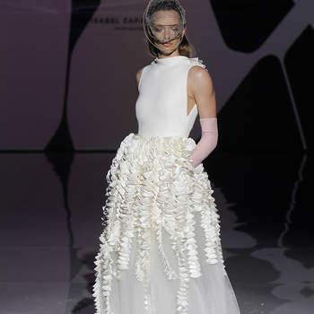 Isabel Zapardies. Credits: Barcelona Bridal Fashion Week
