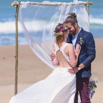 Une inspiration nomade et plage pour un elopement tendance !