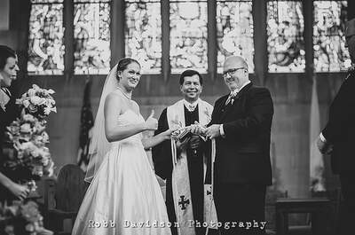 Forget the formalities and have fun with your wedding photos