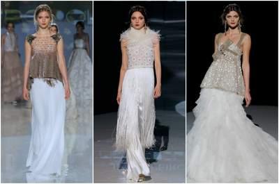 Jesús Peiró 2018. Credits: Barcelona Bridal Fashion Week