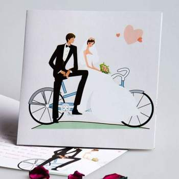 Hochzeitskarte Foto: Kartenpalast
