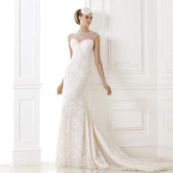 """<a href=""""http://zankyou.9nl.de/zyii"""">Click here for an appointment at Pronovias and view their new 2015 collection.</a>"""