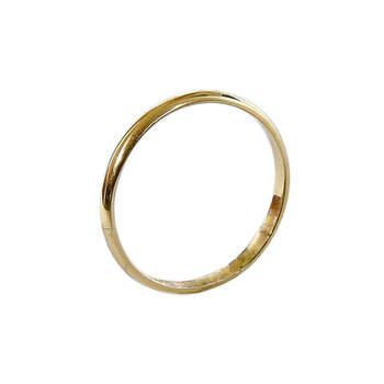 Alianças de casamento em ouro 8 quilates. Créditos: Small Branch