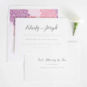 Credits: Shine Wedding Invitation