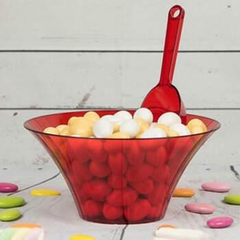 Cuenco rojo para la Candy Bar- Compra en The Wedding Shop