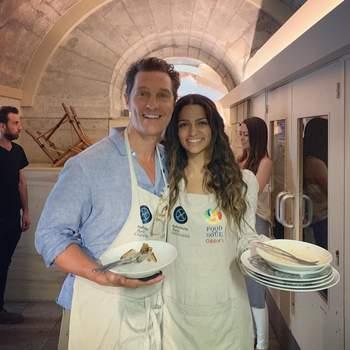 Matthew McConaughey e Camila Alves | Foto via IG @camilamcconaughey