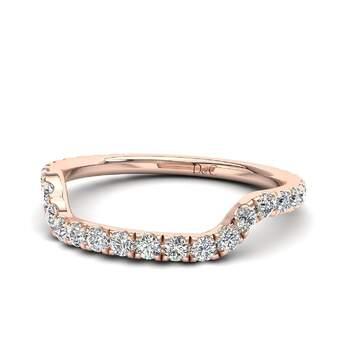 Photo : Diamants et Carats - Modèle Lucie en or rose