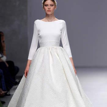 Photo :Cristina Tamborero. Credits_ Barcelona Bridal Fashion Week