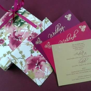 Photo: Classic Designer Wedding Cards & Stationary.