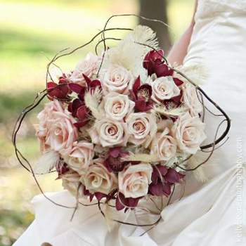 Origineller Brautstrauß- Foto: Rebeccas Silver Rose