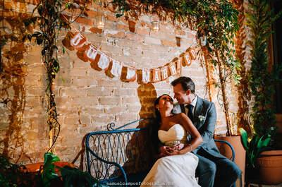 Mini Wedding de Leide e Peter: romântico, intimista e cheio de detalhes encantadores!