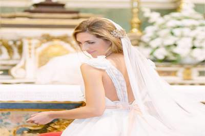 Una novia de cuento: la boda de ensueño de Isabel y Luis