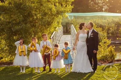 American dream, to pomysł na ślub i wesele Oli i Arka- wyszło wspaniale!