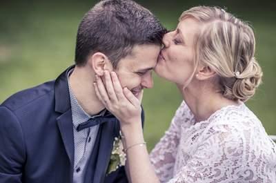 Anne-Sophie et Julien : un joli mariage civil chic et simple, en petit comité