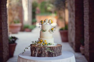 """Laissez-vous tenter par le """"naked cake"""", la tendance ultime pour un mariage gourmand en 2016 !"""