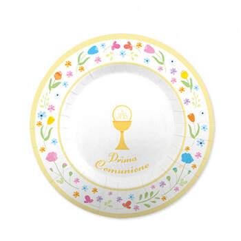 Platos para la Comunión Gourmet 8 unidades- Compra en The Wedding Shop