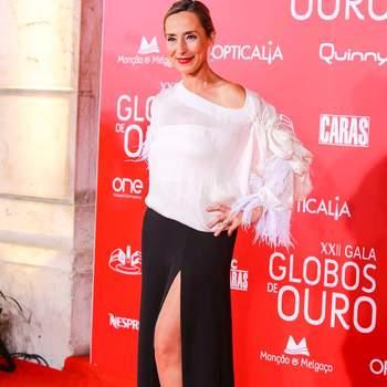 Maria João Luís vestida por Dino Alves | Créditos: Nuno Pinto Fernandes © GLOBAL IMAGENS