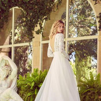 Robe de mariée collection Majesté modèle Aminta - Crédit photo: Margaux Tardits