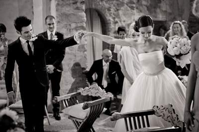 Francesca e Nelson, un matrimonio in punta di piedi!