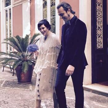 Casamento de Sónia Tavares e Fernando Ribeiro | Foto via IG @soniatavaresofficial