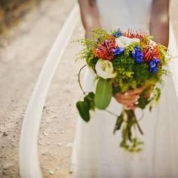 Verschiedene Blumen und Farben für den Brautstrauß- Foto: Fran Russo