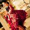Otra toma de esta flamenca bailando en una boda. Foto: Adrián Tomadin