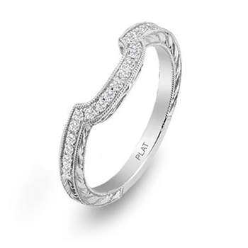 Un diseño diferente sin romper con la delicadeza del anillo.