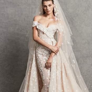 Créditos: Zuhair Murad | Modelo do vestido: Cassandra com véu.