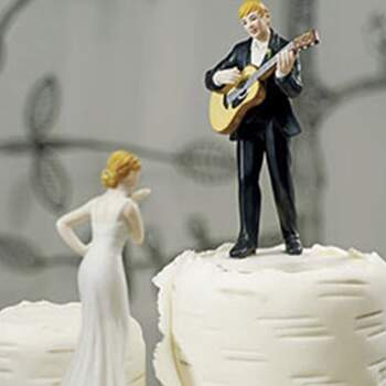 Cake Topper Sérénade D'amour - The Wedding Shop !