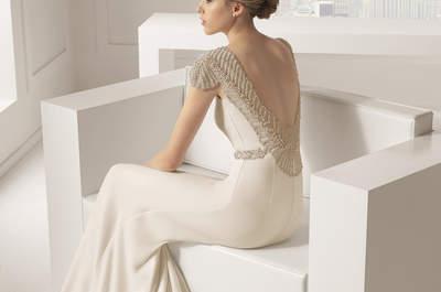 Robe de mariée Rosa Clará Collection 2015 : des créations tout en finesse