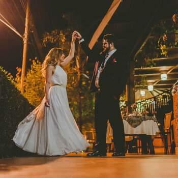 Susana Almeida com vestido Crie por Julia Parker / Foto: Tiago Silva