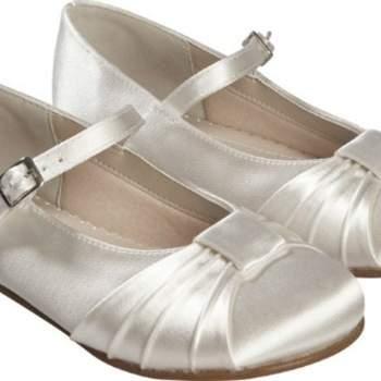 Chaussures de cérémonie Jemima pour fillette. Crédit photo: Princesse d'un jour