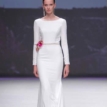 Photo : Aire Barcelona. Credits_ Barcelona Bridal Fashion Week