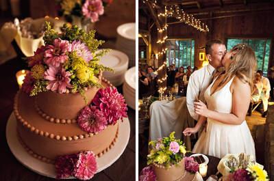 Zauberhafte Vorschläge, wie Sie Ihre Hochzeitstorte präsentieren können!