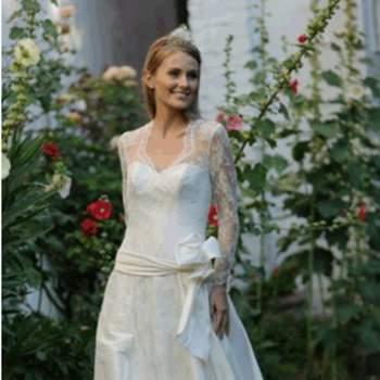 Robe de mariée Anastasia, vue de face - Crédit photo: Catherine Varnier