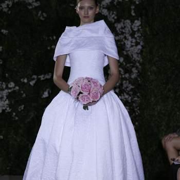 Vestido de noiva Carolina Herrera.