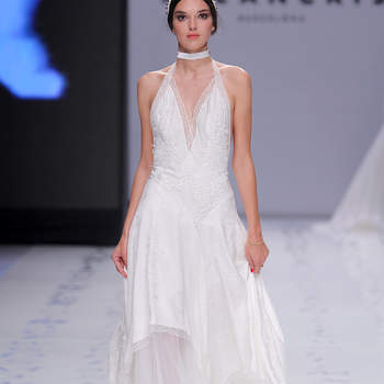 YolanCris. Credits: Barcelona Bridal Fashion Week