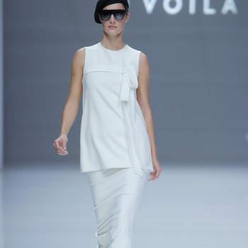 Sopthie et Voilà. Credits: Barcelona Bridal Fashion Week