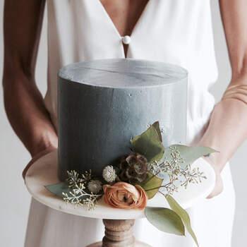 Foto: The Creative's Loft - pastel minimalista en tono gris