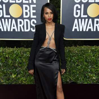 Kerry Washington de Altuzarra. Credits Cordon Press