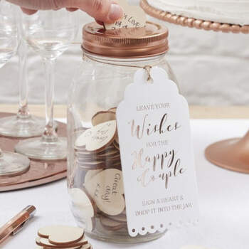 Tarrito para mensajes- Compra en The Wedding Shop