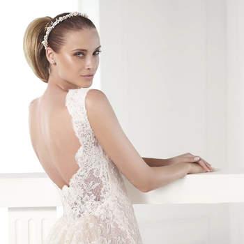 """<a href=""""http://zankyou.9nl.de/eek7"""">Se você está buscando o seu vestido de noiva perfeito, não perca a oportunidade de provar um belo vestido de noiva Pronovias, marque agora mesmo seu horário aqui!</a>"""