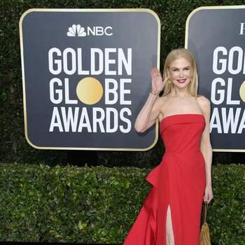 Nicole Kidman abito Versace. Crédits Cordon Press