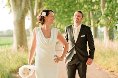 Un mariage sous le thème de la brocante? Il fallait y penser... Marie et Nicolas l'ont fait !