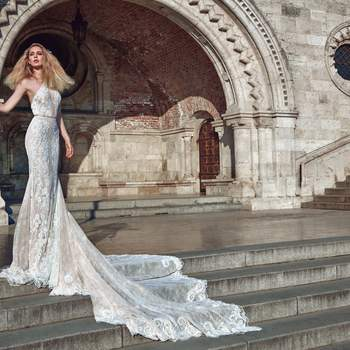 Foto: Modelo Victoria de Galia Lahav Haute Couture