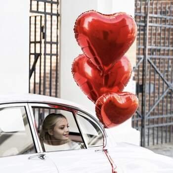 Ballon coeur rouge - The Wedding Shop !